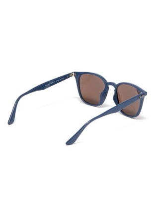 Figure View - Click To Enlarge - RAY-BAN - 'RB4258' acetate frame angular sunglasses