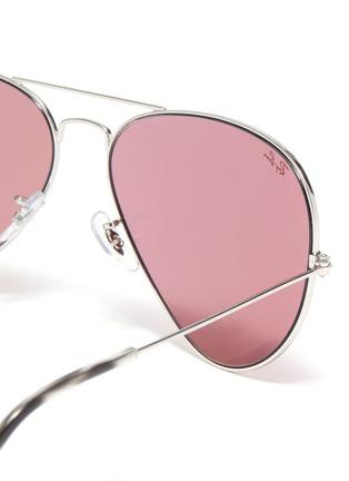 Detail View - Click To Enlarge - RAY-BAN - x Team Wang metal aviator sunglasses