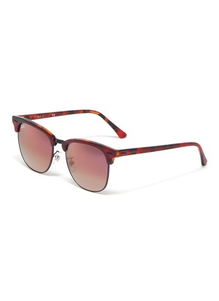 Main View - Click To Enlarge - RAY-BAN - Clubmaster' acetate frame square sunglasses