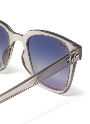 Detail View - Click To Enlarge - RAY-BAN - Clear acetate frame sunglasses
