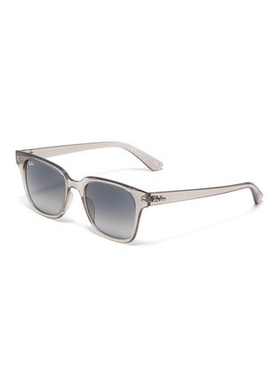 Main View - Click To Enlarge - RAY-BAN - Clear acetate frame sunglasses