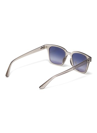 Figure View - Click To Enlarge - RAY-BAN - Clear acetate frame sunglasses