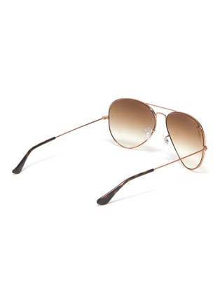 Figure View - Click To Enlarge - RAY-BAN - x Team Wang 'RB3025' metal frame aviator sunglasses