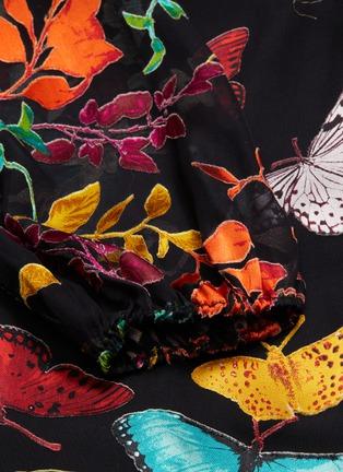 - ALICE + OLIVIA - 'Jesse' butterfly leopard print belted wrap dress