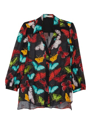 Main View - Click To Enlarge - ALICE + OLIVIA - 'Sheila' blouson button up top