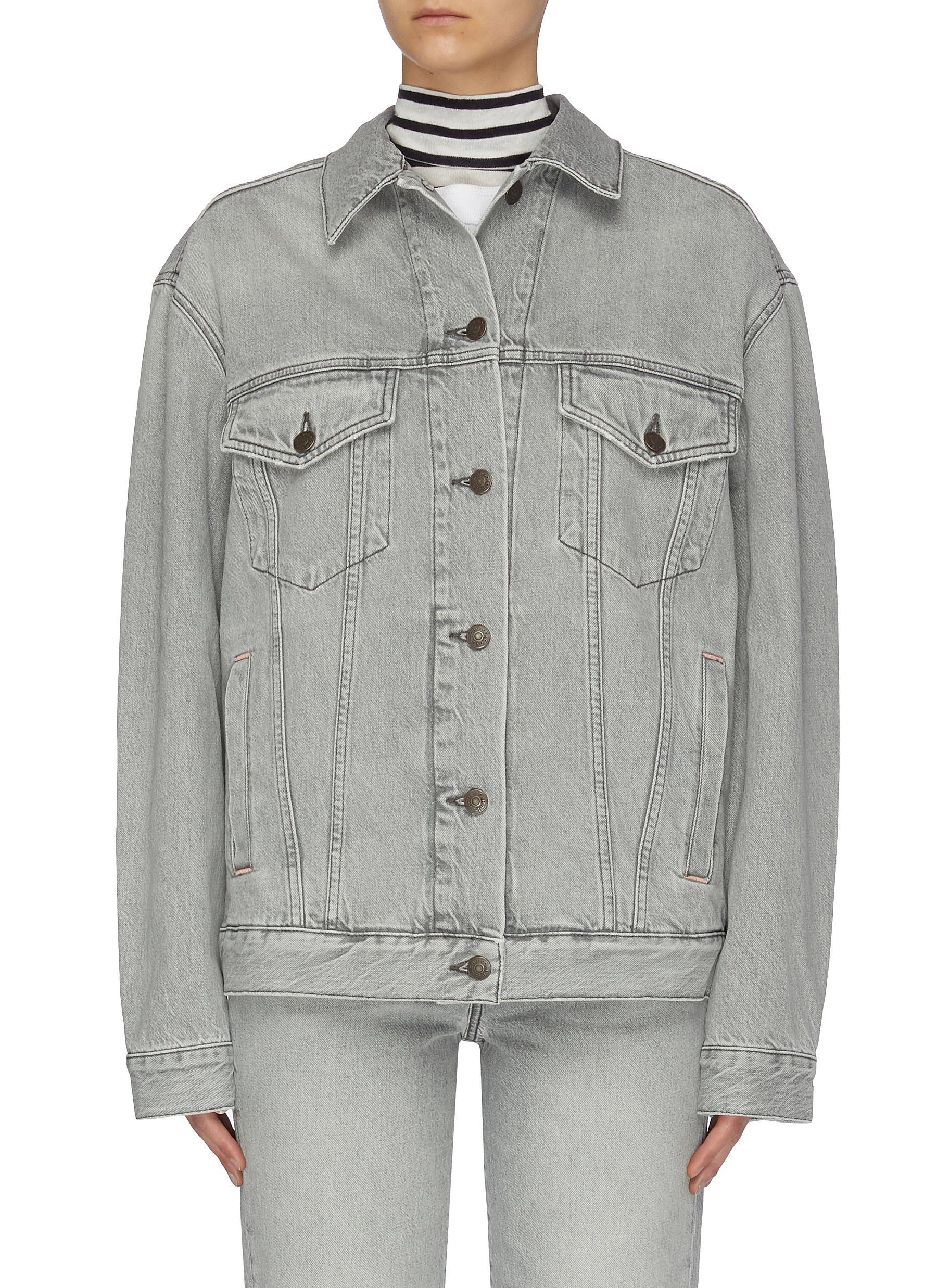 shop Acne Studios Stone washed denim jacket online