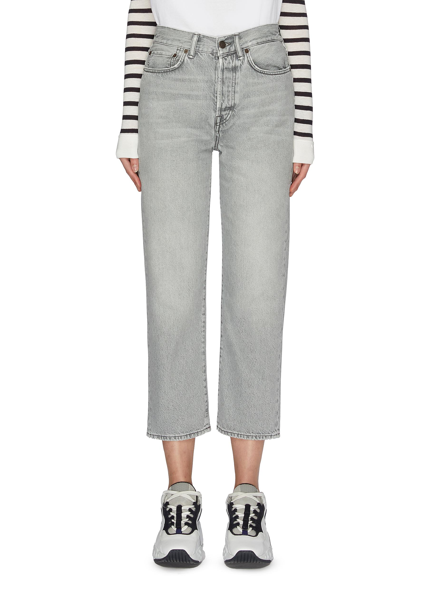 Buy Acne Studios Jeans Stone wash jeans