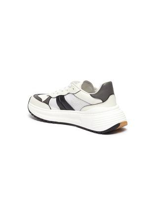- BOTTEGA VENETA - Speedster' leather mesh patchwork sneakers