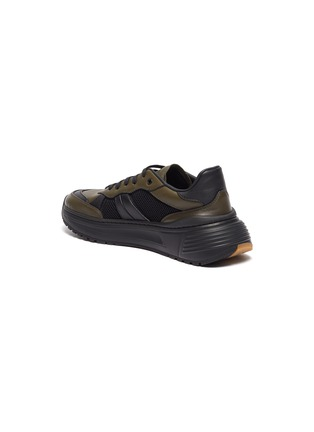 - BOTTEGA VENETA - 'Speedster' leather mesh patchwork sneakers