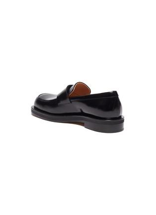 - BOTTEGA VENETA - Round toe oversized penny loafers