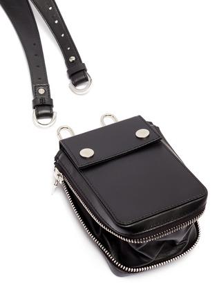 Detail View - Click To Enlarge - AMIRI - 'Harness' bag