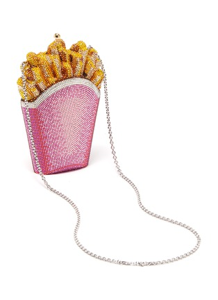Detail View - Click To Enlarge - JUDITH LEIBER - 'French Fries' crystal pavé minaudière