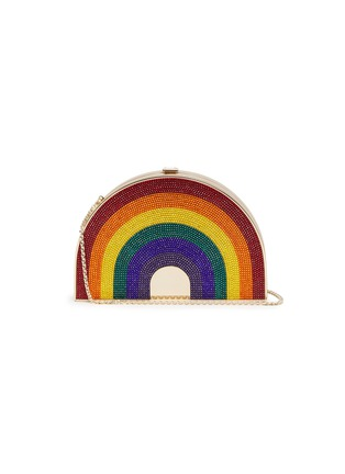 Main View - Click To Enlarge - JUDITH LEIBER - Rainbow box clutch