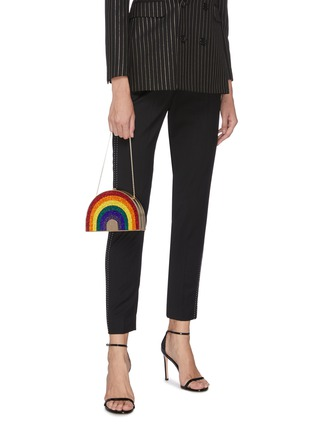 Figure View - Click To Enlarge - JUDITH LEIBER - Rainbow box clutch