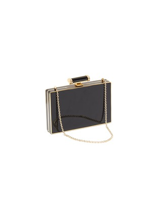Detail View - Click To Enlarge - JUDITH LEIBER - 'Jazz Age' crystal embellished chain clutch