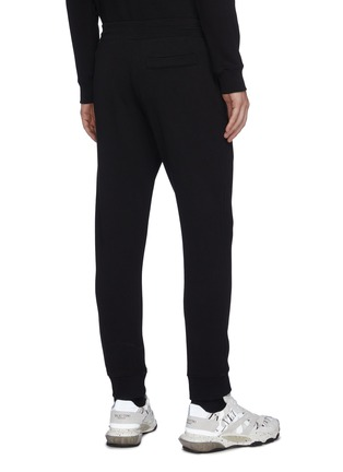 Back View - Click To Enlarge - MCQ ALEXANDER MCQUEEN - Swallow embroidered sweatpants