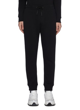 Main View - Click To Enlarge - MCQ ALEXANDER MCQUEEN - Swallow embroidered sweatpants