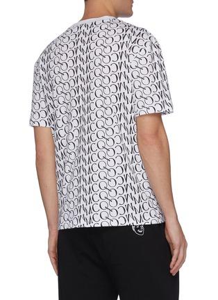 Back View - Click To Enlarge - MCQ ALEXANDER MCQUEEN - Monogram print T-shirt