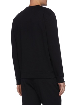 Back View - Click To Enlarge - MCQ ALEXANDER MCQUEEN - Swallow embroidered sweater