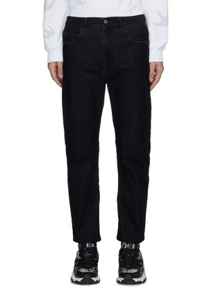 Main View - Click To Enlarge - MCQ ALEXANDER MCQUEEN - 'Flock Patina' jeans