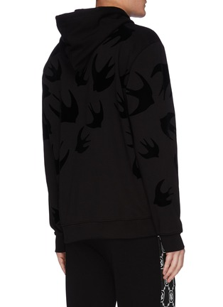 Back View - Click To Enlarge - MCQ SWALLOW - Swallow Print Hoodie