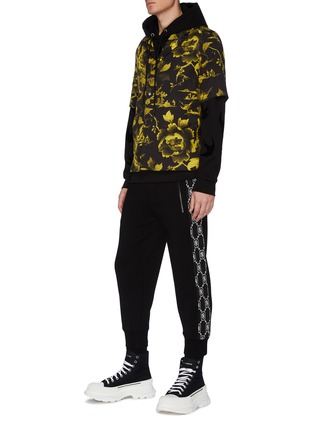 Figure View - Click To Enlarge - MCQ SWALLOW - Swallow Print Hoodie
