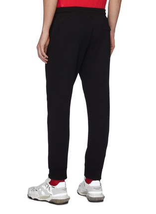 Back View - Click To Enlarge - MCQ ALEXANDER MCQUEEN - Ribbed sweatpants