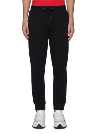 Main View - Click To Enlarge - MCQ ALEXANDER MCQUEEN - Ribbed sweatpants