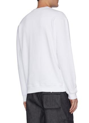 Back View - Click To Enlarge - MCQ ALEXANDER MCQUEEN - Head badge sweatshirt