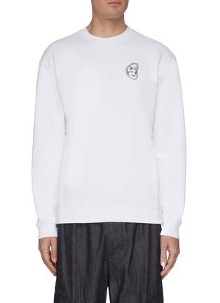 Main View - Click To Enlarge - MCQ ALEXANDER MCQUEEN - Head badge sweatshirt