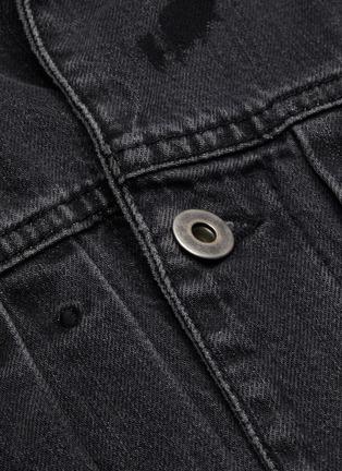 - MCQ SWALLOW - Pleated denim jacket