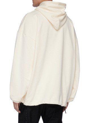 Back View - Click To Enlarge - MCQ ALEXANDER MCQUEEN - Monster print hoodie