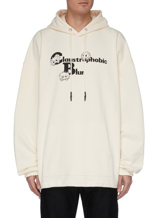 Main View - Click To Enlarge - MCQ ALEXANDER MCQUEEN - Monster print hoodie