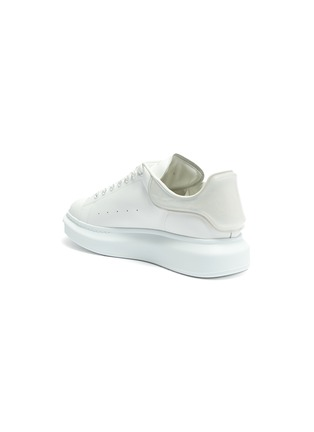 - ALEXANDER MCQUEEN - 'Larry' panel counter perforated leather sneakers