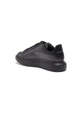 - ALEXANDER MCQUEEN - 'Larry' transparent wedge perforated PVC sneakers