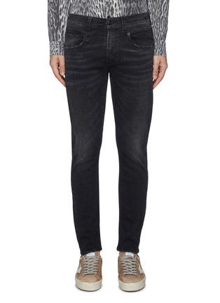 Main View - Click To Enlarge - R13 - 'Core Boy' slim fit jeans