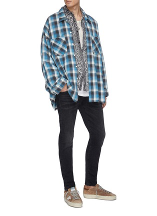 Figure View - Click To Enlarge - R13 - 'Core Boy' slim fit jeans