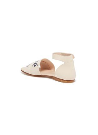 - CHLOÉ - Logo band ankle strap kids sandals