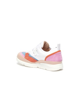 - CHLOÉ - Criss cross strap buckle kids sneakers