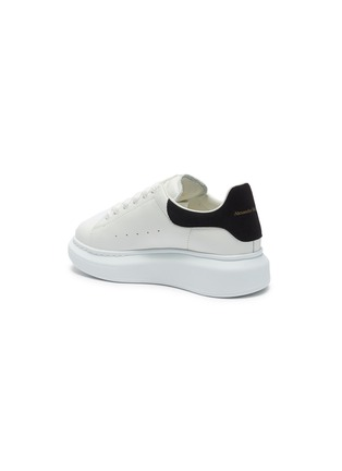 Detail View - Click To Enlarge - ALEXANDER MCQUEEN - Lace up chunky outsole kids sneakers