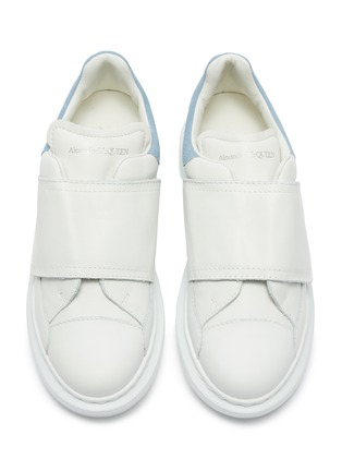 Figure View - Click To Enlarge - ALEXANDER MCQUEEN - Velcro sneaker chunky outsole kids sneakers
