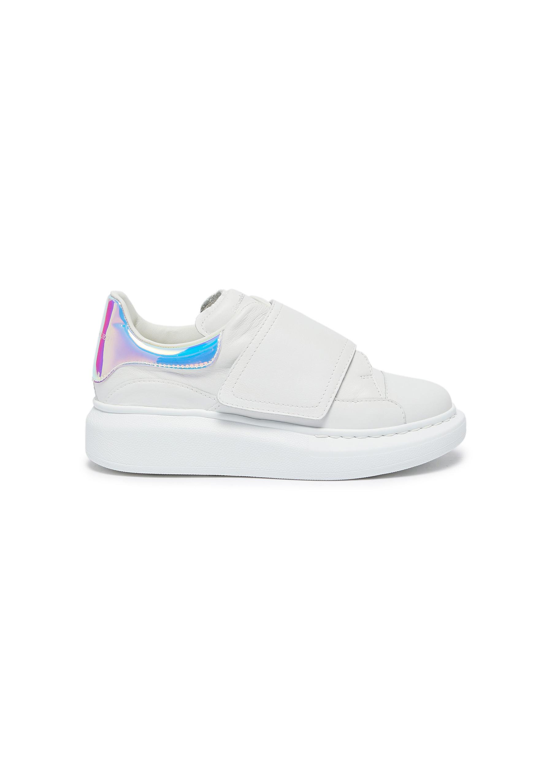 Velcro chunky outsole kids sneakers