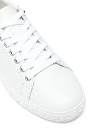 Detail View - Click To Enlarge - ASH - 'Dazed' stud calfskin leather sneakers