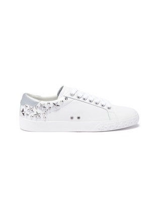 Main View - Click To Enlarge - ASH - 'Dazed' stud calfskin leather sneakers