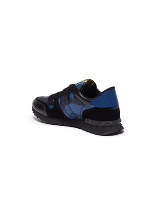 - VALENTINO - Valentino Garavani Rockstud camo print sneakers