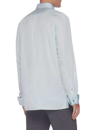 Back View - Click To Enlarge - JOSEPH - 'Paul' Summer twill shirt