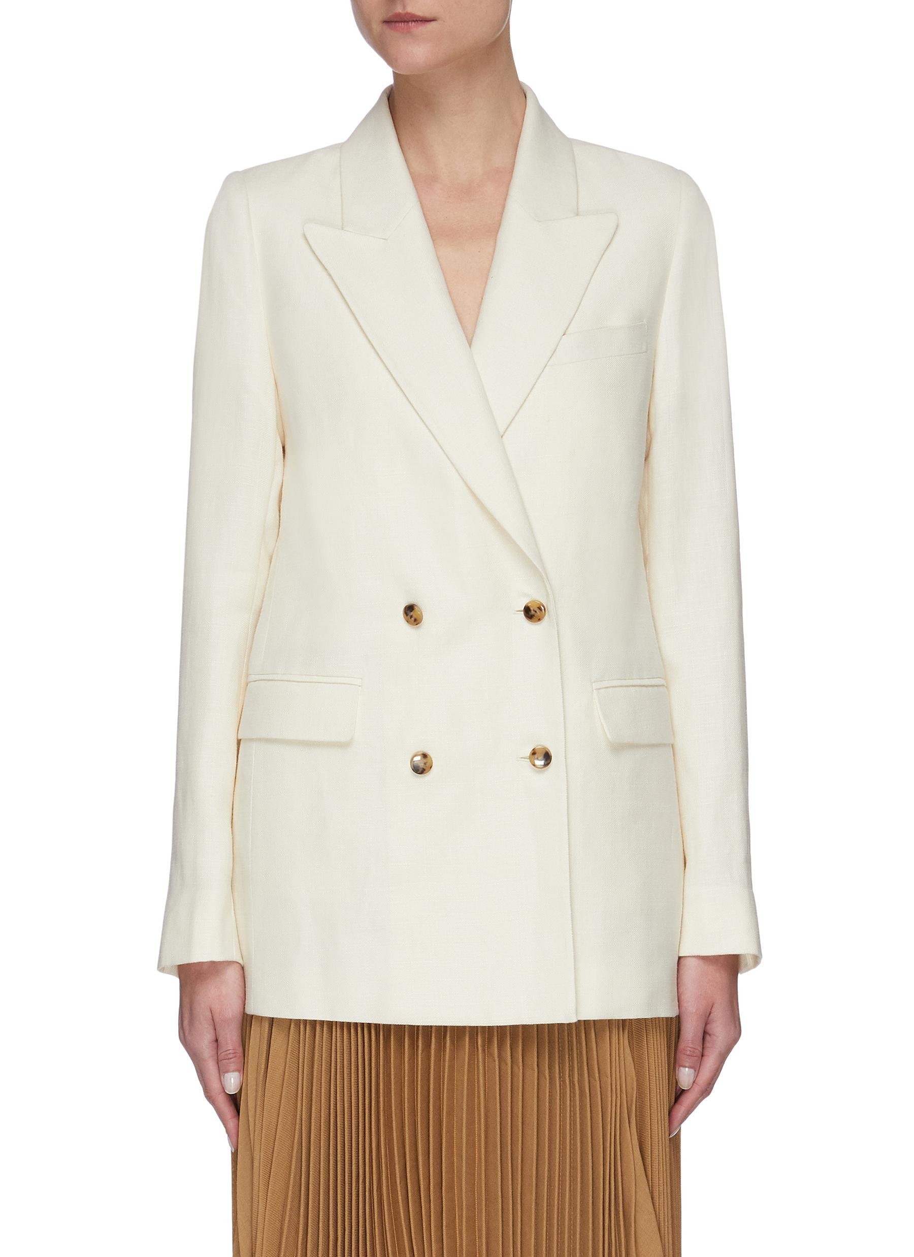 shop Equil Double breasted blazer online