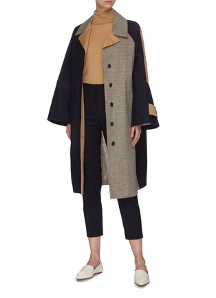 Figure View - Click To Enlarge - EQUIL - Crop suiting pants