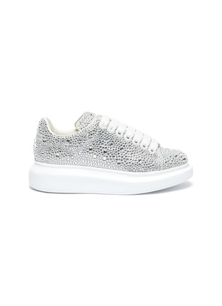 Main View - Click To Enlarge - ALEXANDER MCQUEEN - 'Oversized sneakers' in strass