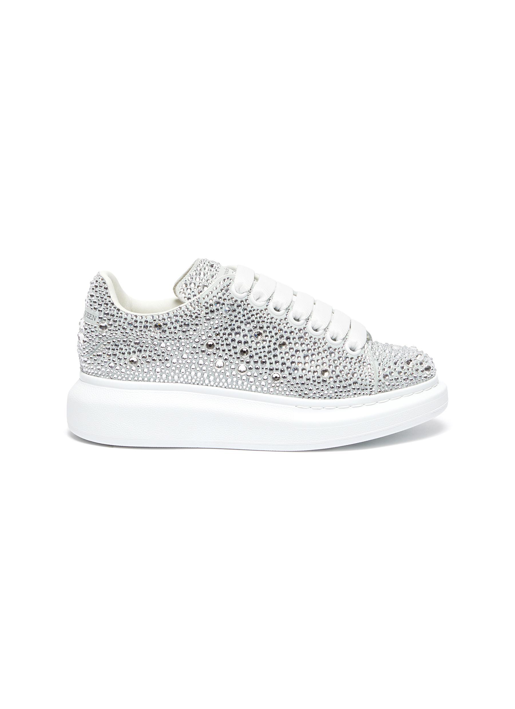 shop Alexander Mcqueen 'Oversized sneakers' in strass online